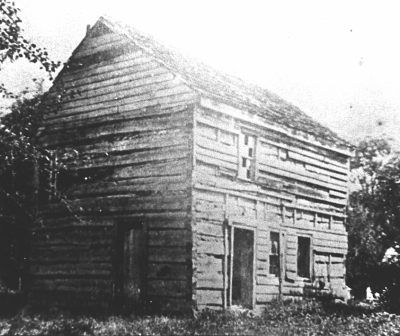 dry fork west virginia history | Building Thought to be the Westfall Fort