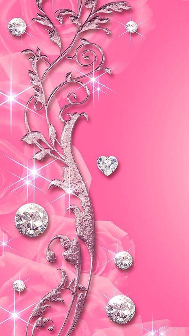 Wallpaper iPhone 5S Pink wallpaper iphone, Bling