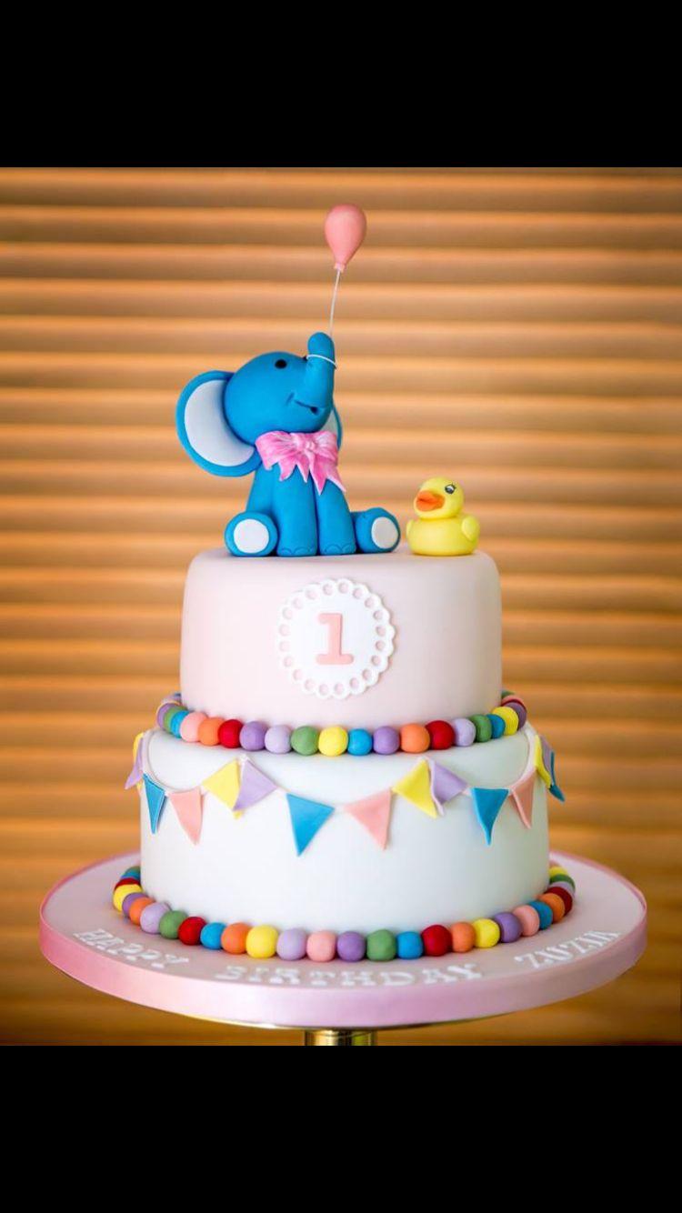 1st Birthday cake #mickeymousebirthdaypartyideas1st