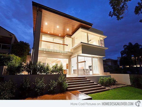 Contemporary Landscape Front Yard: 15 Modern Front Yard Landscape Ideas