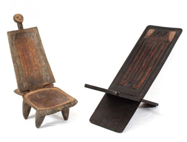 chaise africaine pour adulte