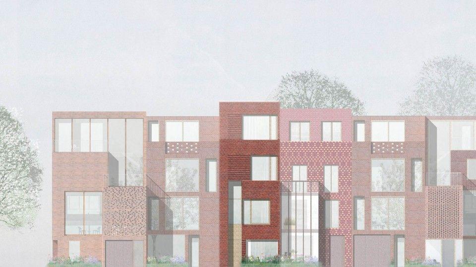 Townhouses Finkenau Hamburg DFZ ARCHITEKTEN Architekt