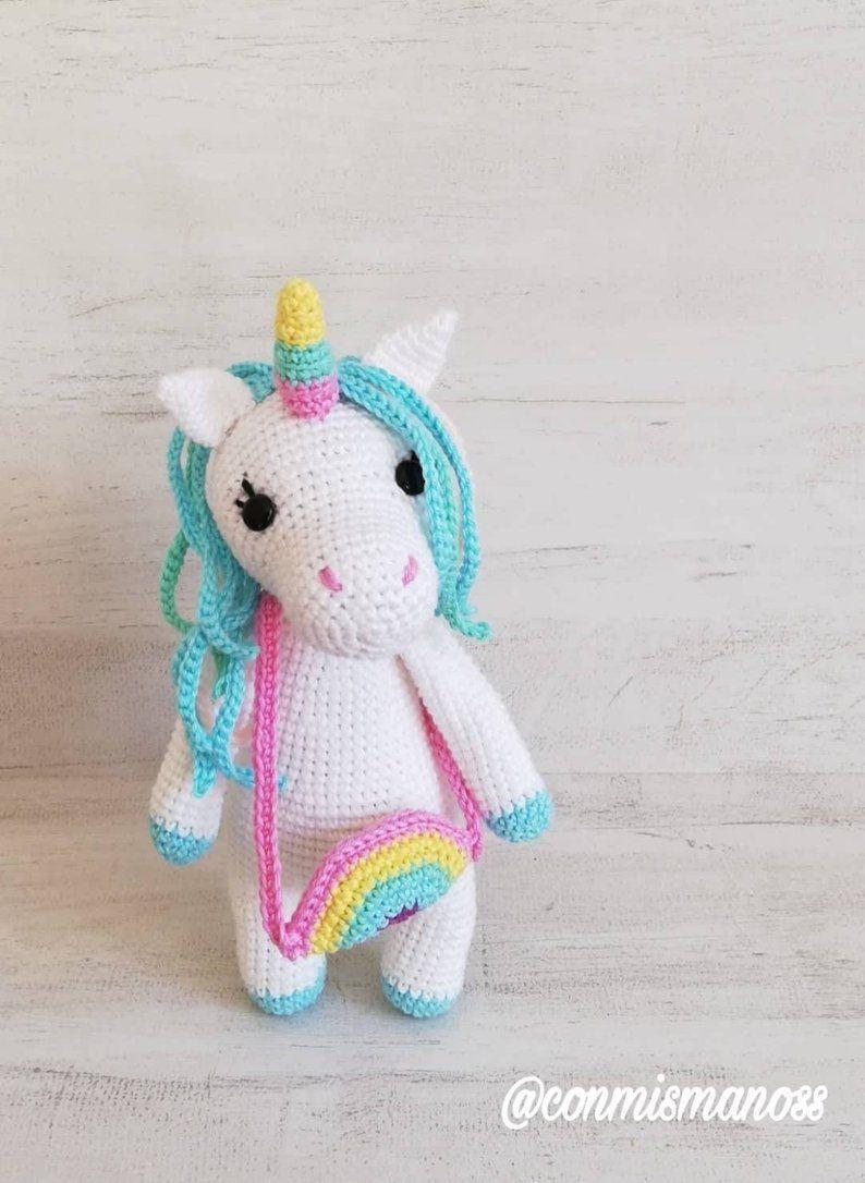 Unicornio Crochet Amigurumi parte 1 de 2 🦄🦄🦄 - YouTube | 1086x794