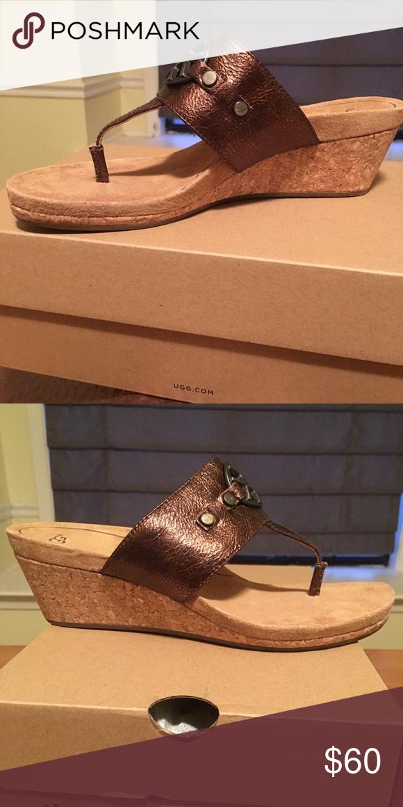 UGG UGG sandal never worn in box UGG Shoes Sandals