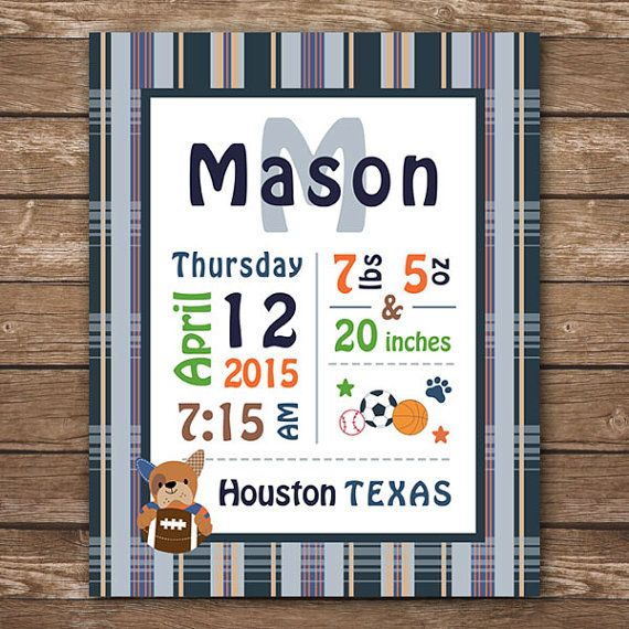 Custom baby stats lambs and ivy bow wow sports nursery puppy custom baby stats lambs and ivy bow wow sports nursery puppy nursery negle Image collections