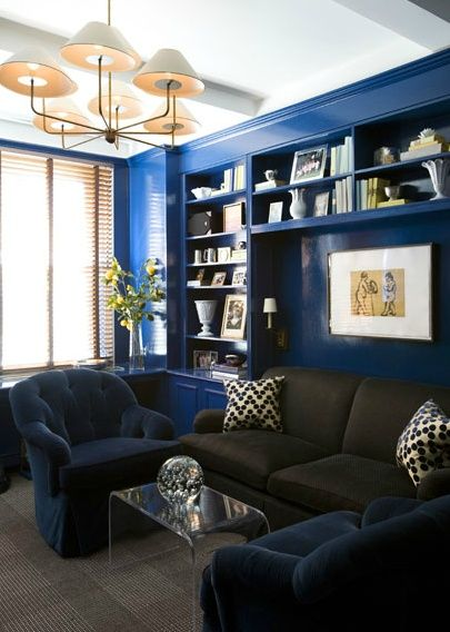 The English Room Blog / Trend Alert Bold and Beautiful Cobalt Blue