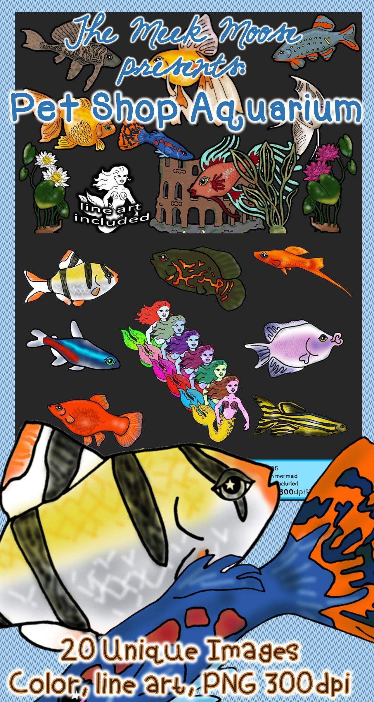 Pet Shop Aquarium Freshwater Fish Clip Art Pet Shop Freshwater Fish Pets