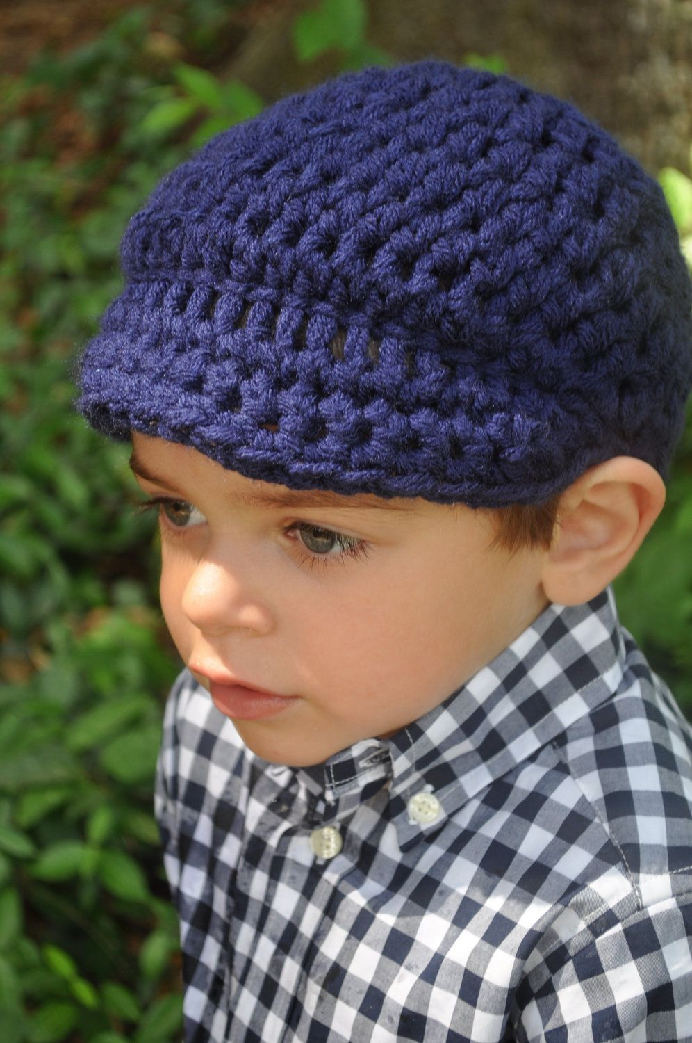 Children Clothing Crochet Boy Beanie Hat with by delightcrochet ...
