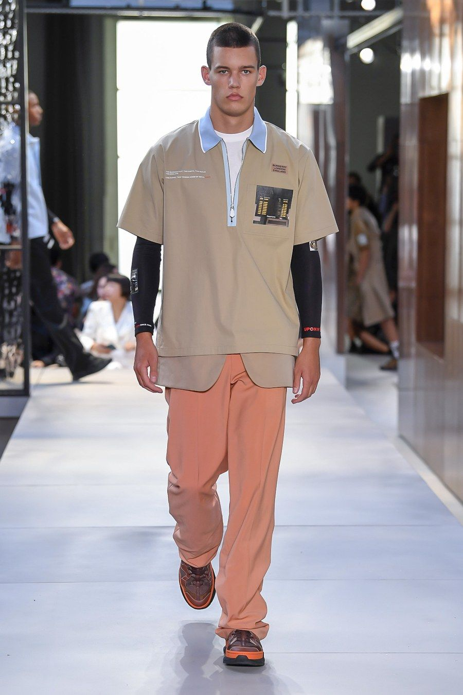 1b3c0eb8a2ce Riccardo Tisci unveiled his first menswear collection for Burberry