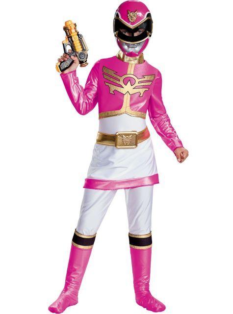 Power Rangers Ranger Movie Girl/'s Fancy Dress Costume