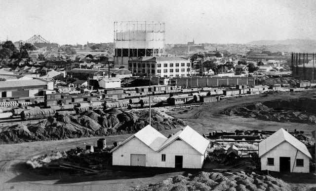 03 Newstead Showing Gasworks 1949 In 2020 Brisbane Newstead Queensland