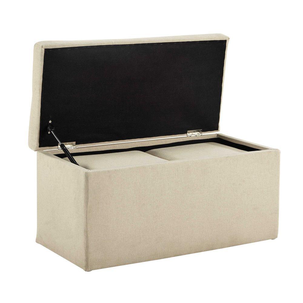 maison du monde pouf coffre affordable pj with maison du. Black Bedroom Furniture Sets. Home Design Ideas