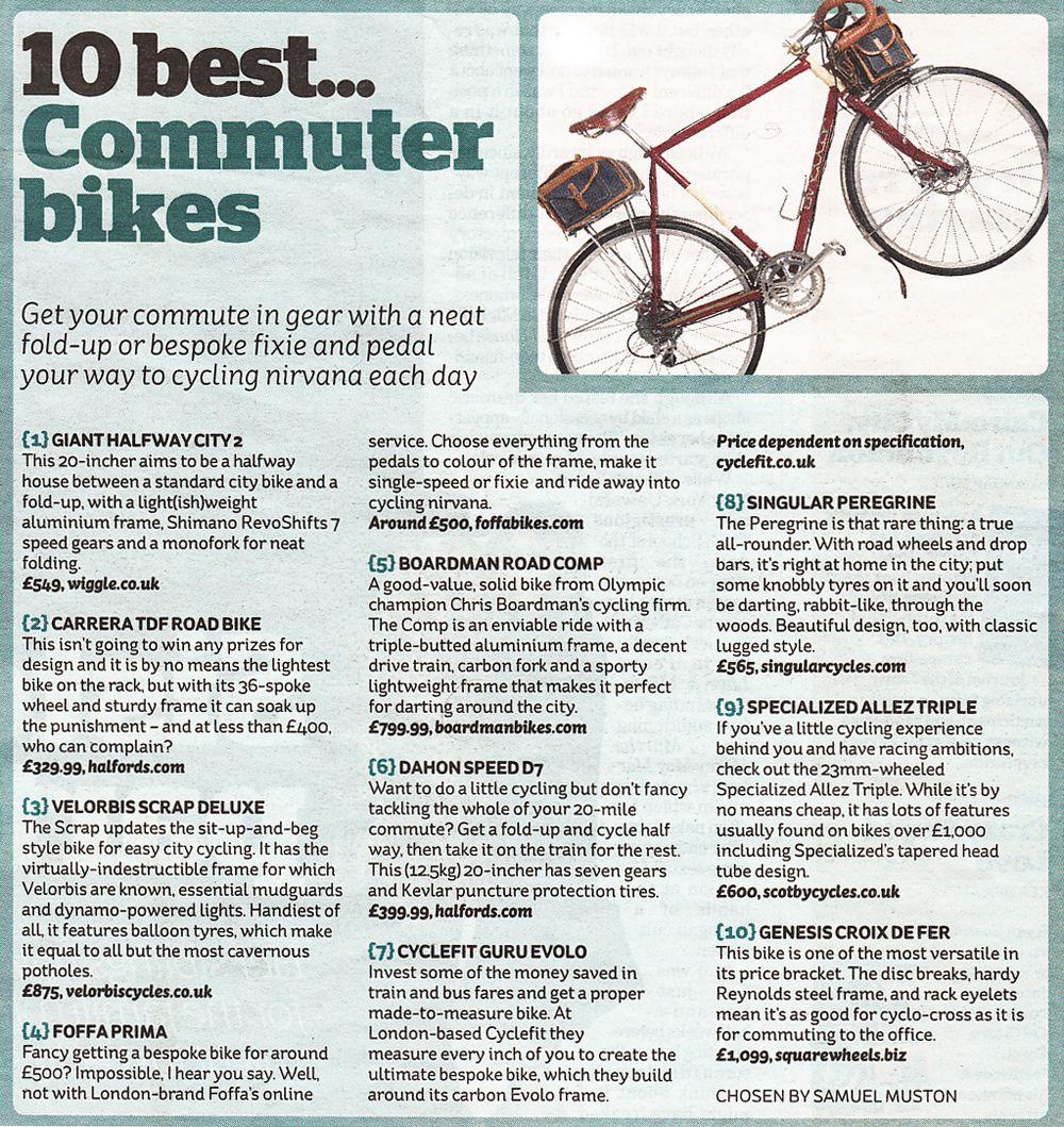 10 Best Bikes For All You Communters Commuter Bike Cycle Culture Beautiful Bike