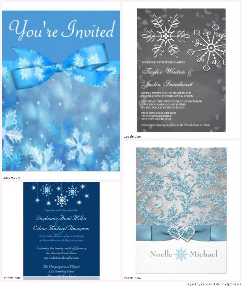 Free Winter Wedding Invitation Templates | Wedding Pictures ...