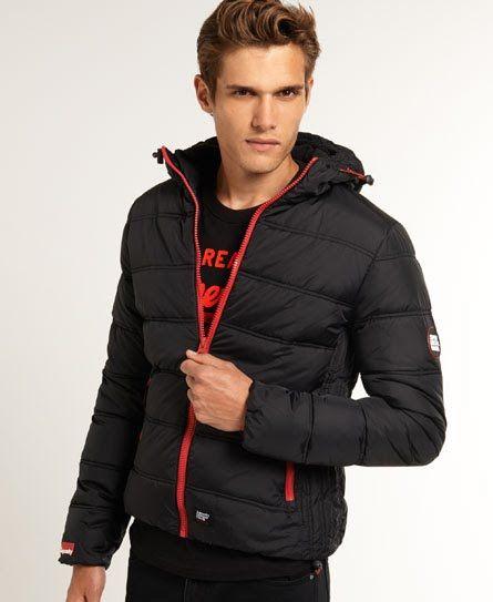 Superdry Polar Elements Jacket Black