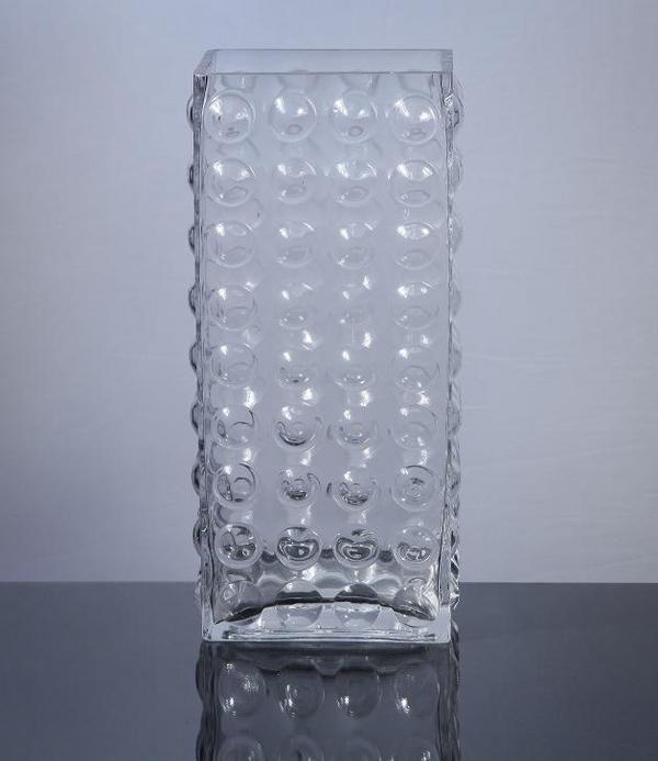 Block Bubble Glass Vase 35 Pinterest Glass Vases Wholesale