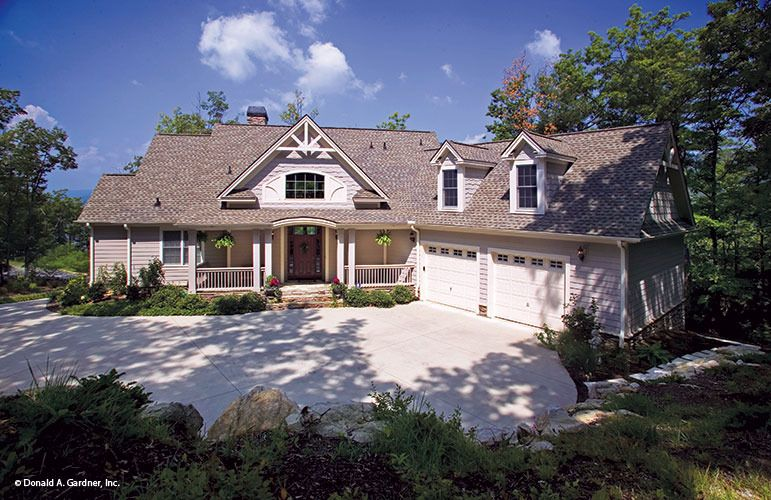 House Plan The Peekskill By Donald A Gardner Architects Country Style House Plans House Plans Craftsman House