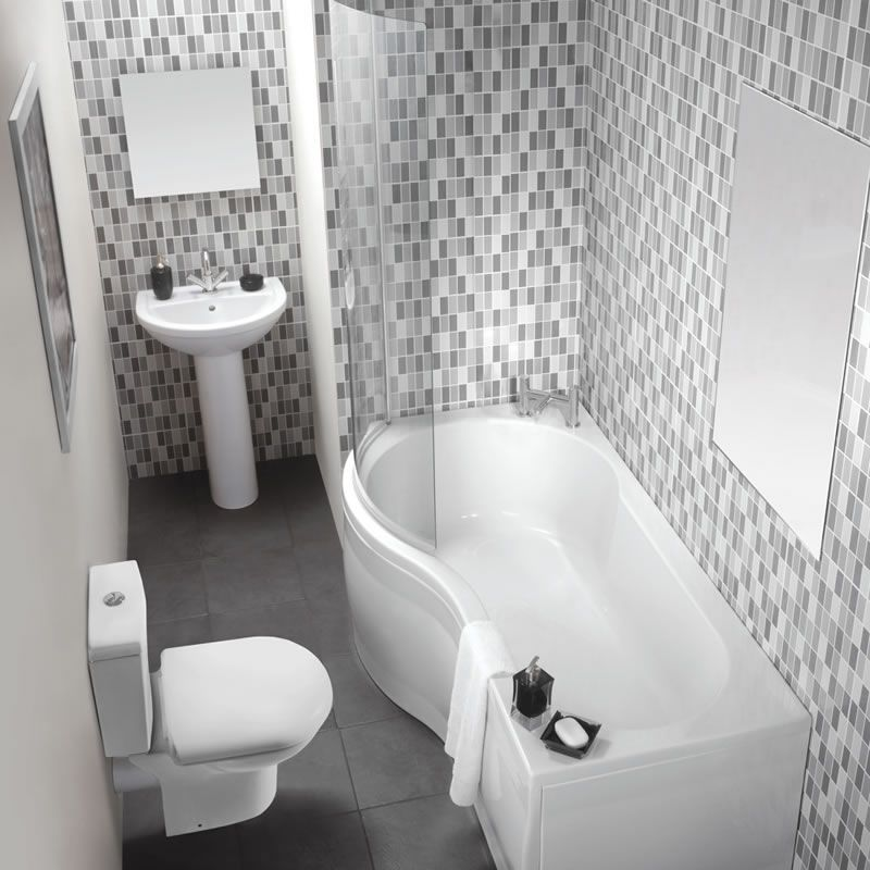 Milano Milos Showerbath Suite Good Idea For A Small Bathroom Turning The Walk In