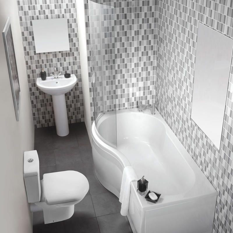 Milano Milos Showerbath Suitegood Idea For A Small Bathroom Simple Compact Bathroom Suites For Small Bathrooms Decorating Design