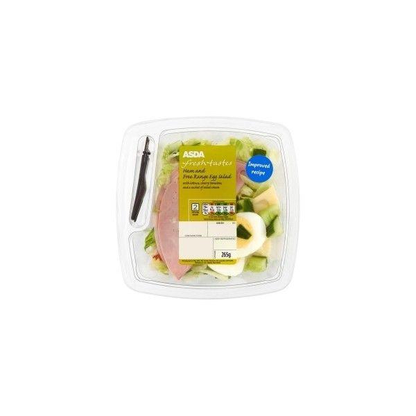 Asda Groceries Asda Ham Free Range Egg Salad 50 Egp Liked On Polyvore Featuring Food Food Drink And Fillers