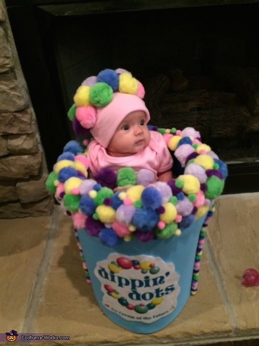 dippin dots creative baby halloween costume idea