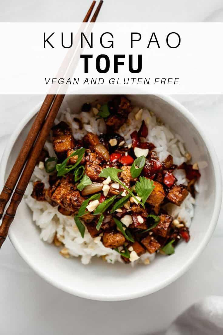 Say hello to your new favorite tofu recipe! Kung Pao tofu is loaded with flavor for a healthy vegan and gluten-free recipe everyone will love!