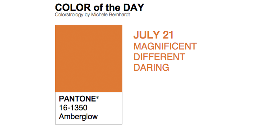 """Talk about campfire! Who's making s'mores? """"@pantone: Today's #coloroftheday is... AMBERGLOW http://bit.ly/19ap8XE"""""""