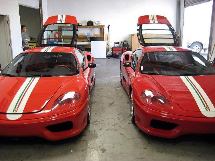 Ferrari Challenge Stradale Rosso Corsa Vs Rosso Scuderia