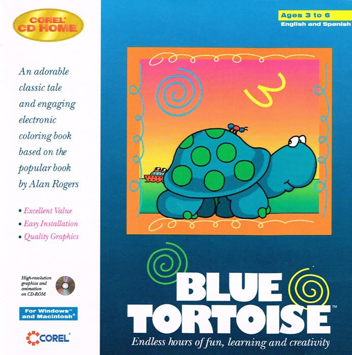 Blue Tortoise Pc Classic Tales Creative Learning Coloring Books