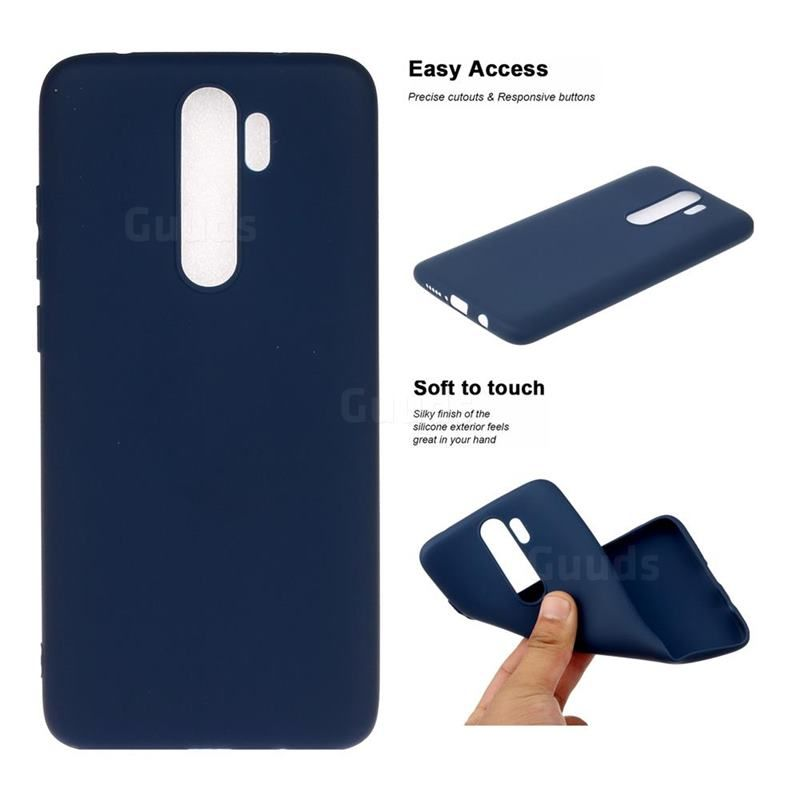 Candy Soft Tpu Back Cover For Mi Xiaomi Redmi Note 8 Pro Blue Xiaomi Redmi Note 8 Pro Cases Guuds Xiaomi Soft Blue Candy
