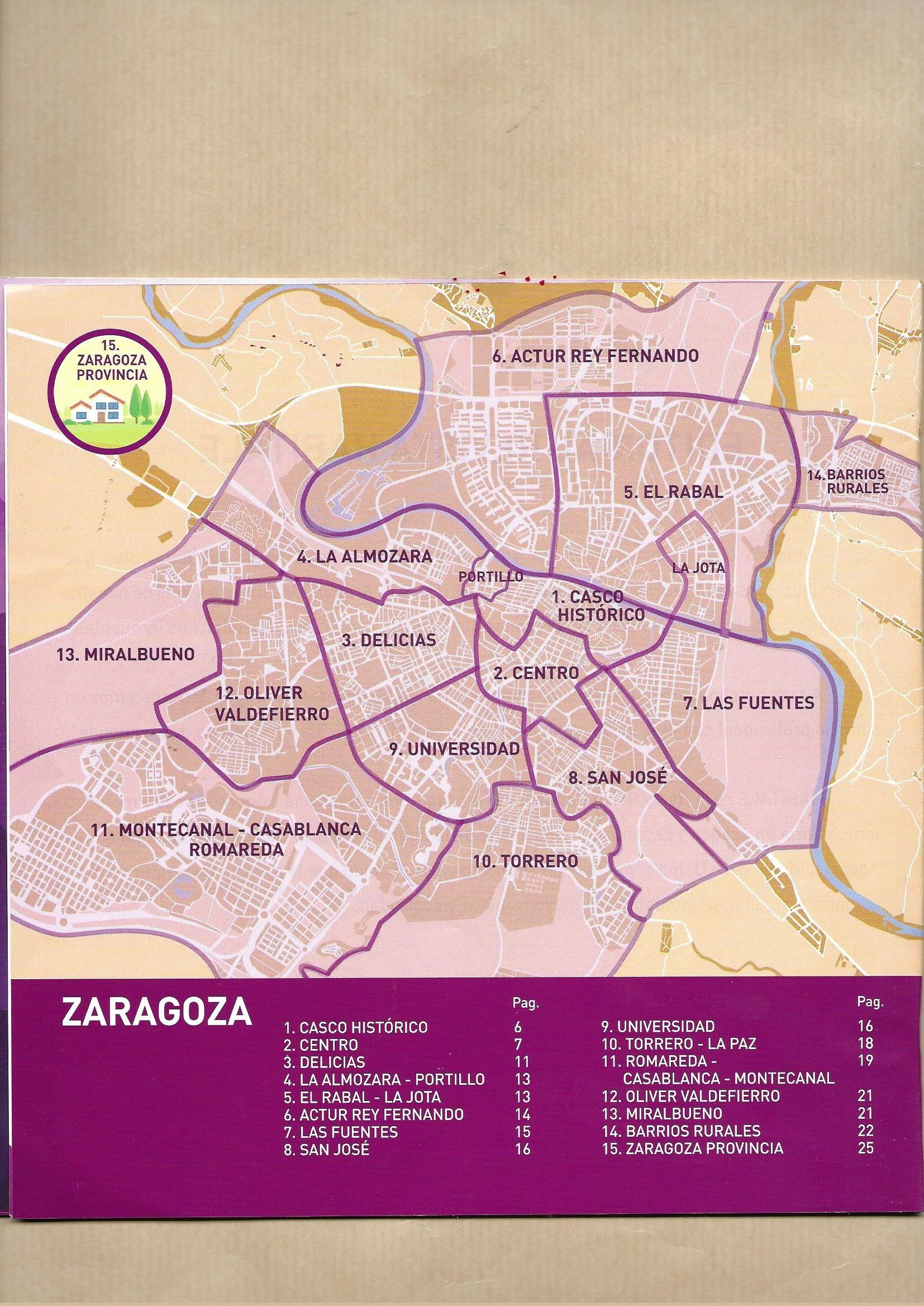 Pin De Juan A Ruiz En Mapas Zaragoza Casablanca Cascadas