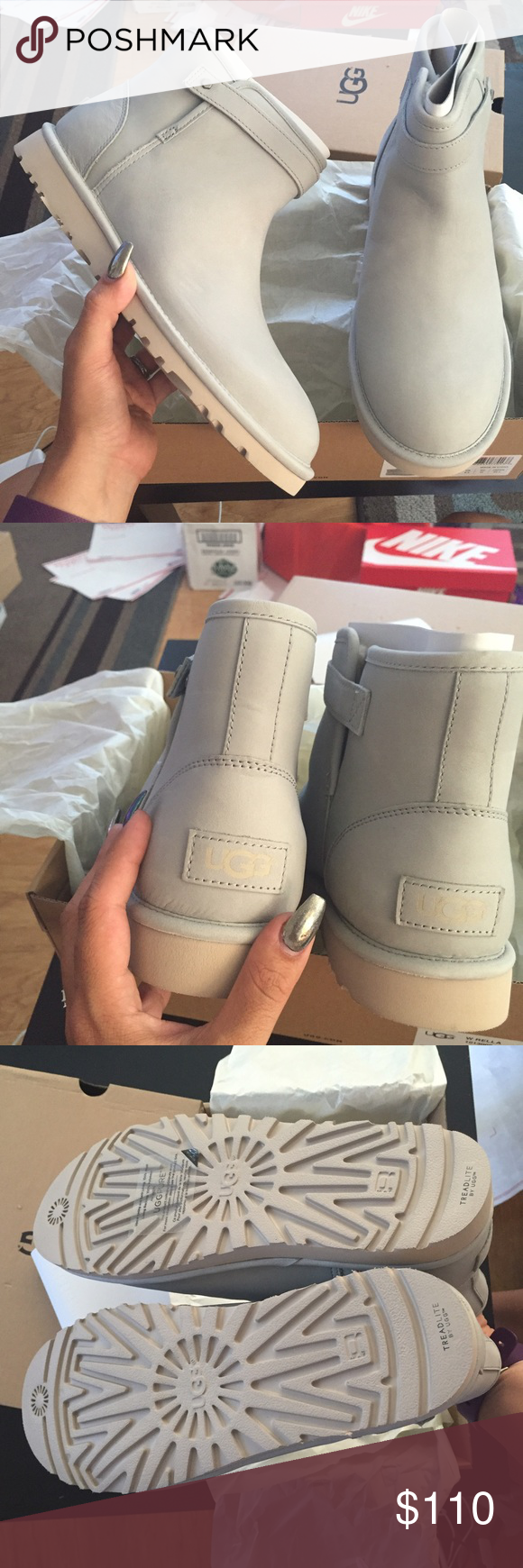 8b470fe1934 UGG rella water resistant frost boots Sz 10 new UGG rella water ...