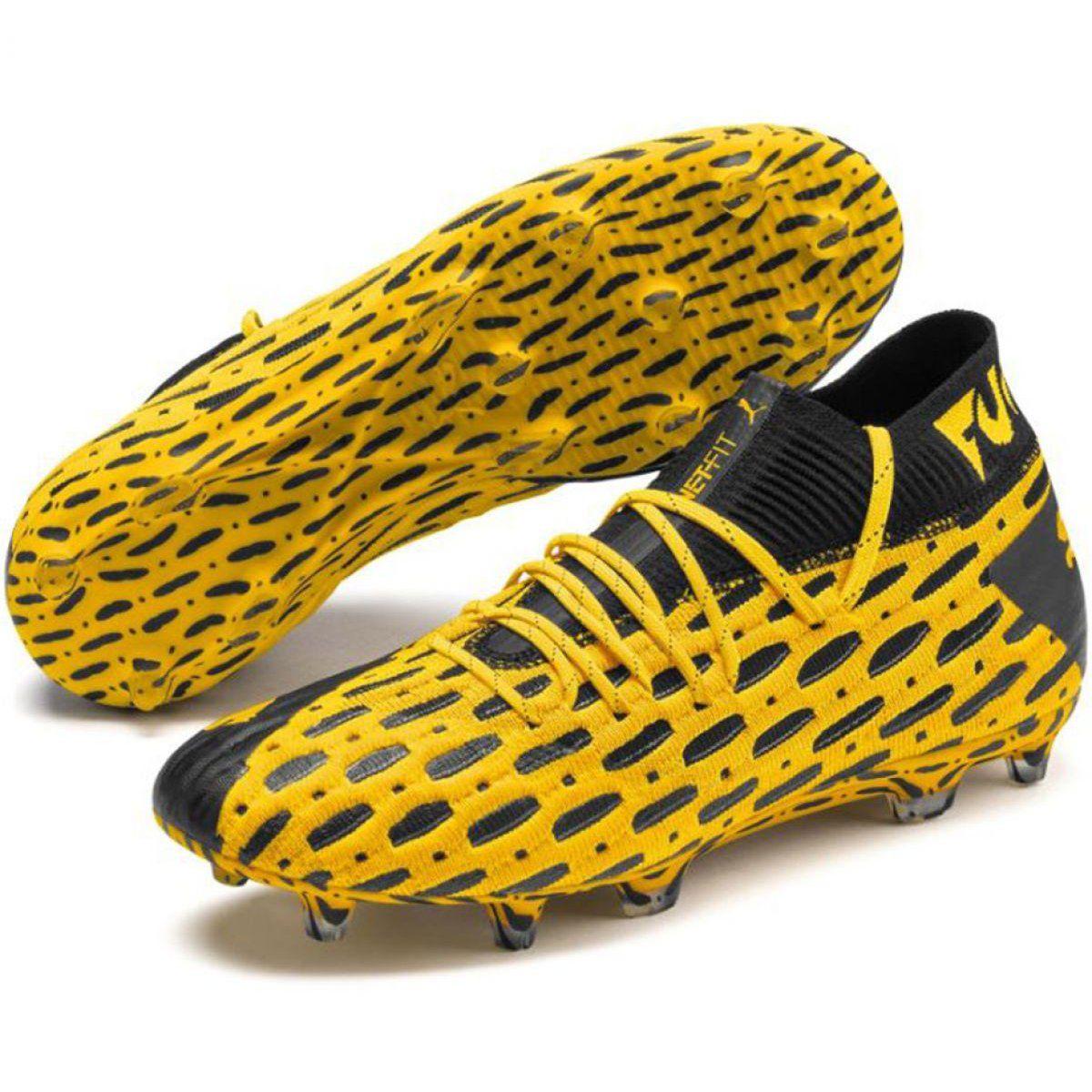 Buty Pilkarskie Puma Future 5 1 Netfit Fg Ag M 105755 03 Zolte Zolte Mens Football Boots Football Boots Football Fashion