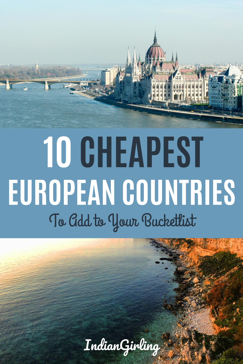 Who said traveling Europe can't be done on a budget? Believe it or not, it's DEFINITELY possible to travel Europe on a budget! This list of 10 of the cheapest countries to visit in Europe, that are as gorgeous as they are budget-friendly, will show you that cheap travel in Europe really does exist. #europetraveltips #cheapeuropedestinations #budgettravel #eurotrip #budgettravelineurope #europeitinerary #europetravel