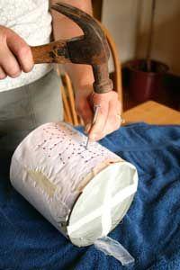Making a Tin Punch Lantern #tincans