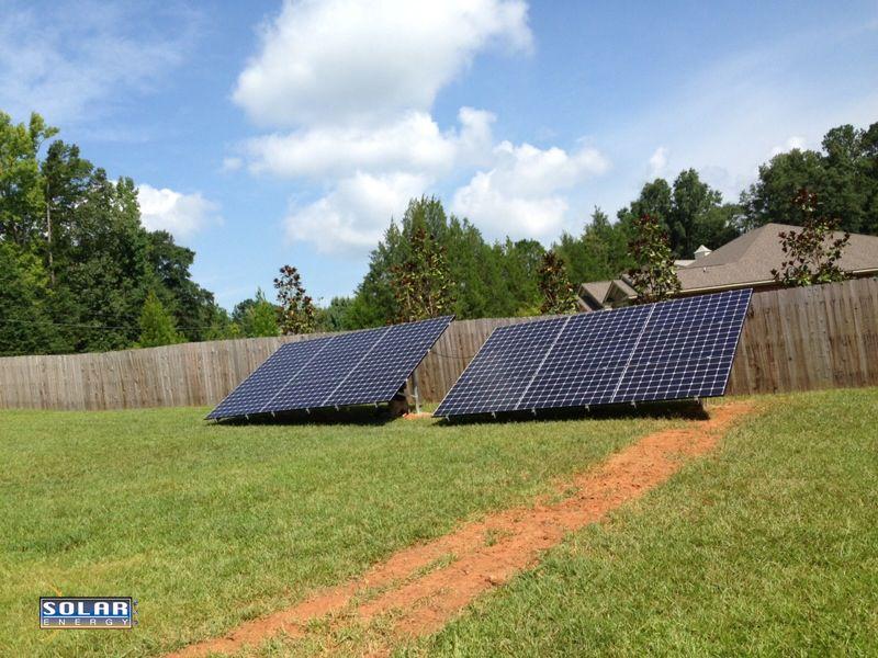 Solar Energy USA Home Solar Panel Ground Mount Solar