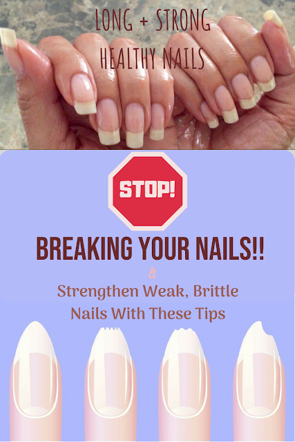 5 TIPS TO GROW YOUR NAILS LONG + STRONG