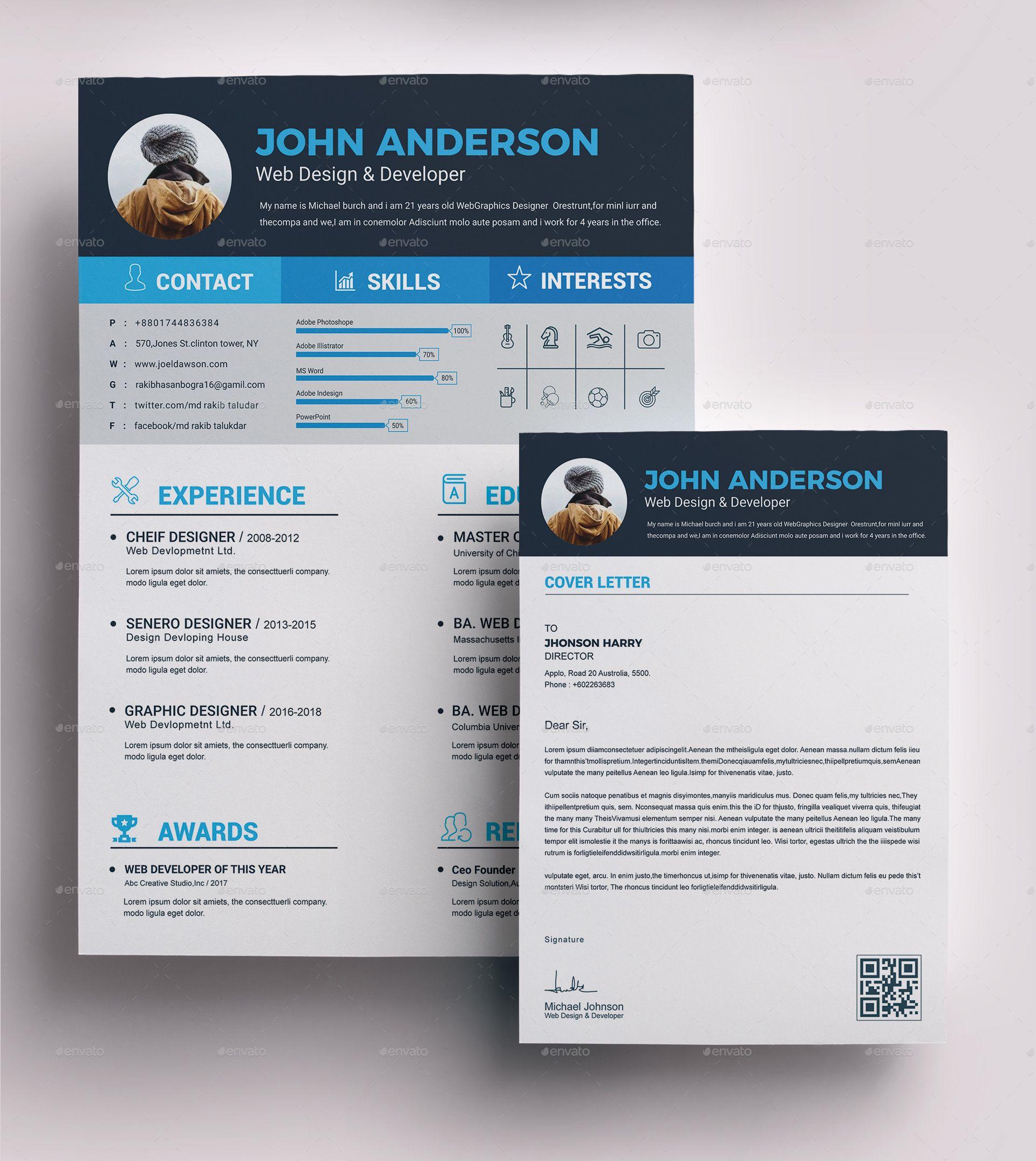 Resume Design, Resume Template