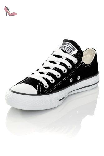 converse all star noir blanc basse 40