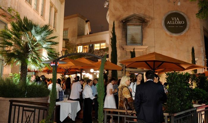 Alloro Restaurant Beverly Hills