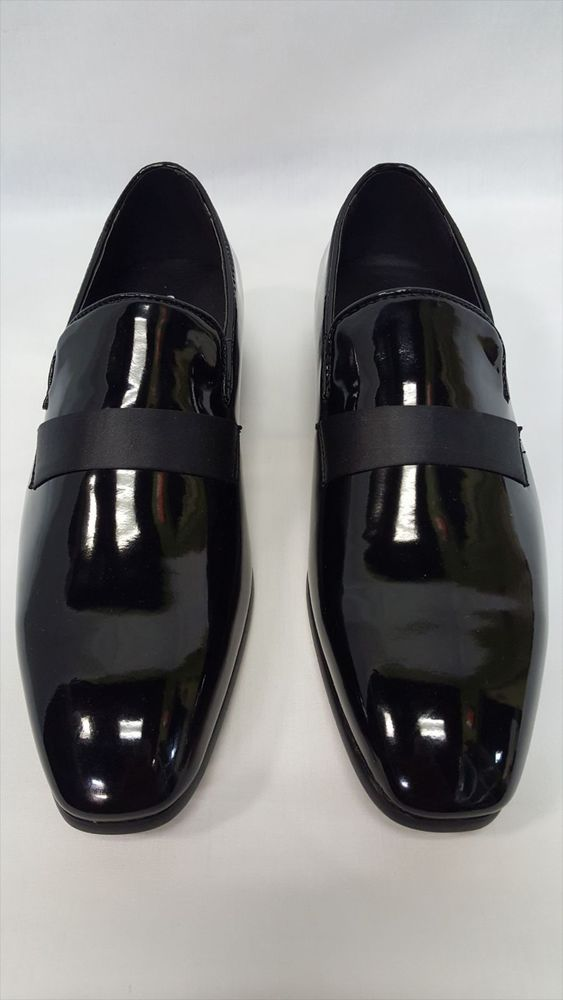 16aaf1ab4c77 NEW Mens Slip On Black Formal Wedding Tuxedo Shoes Groom Loafers Shoe All  Size. Price: US $49.99