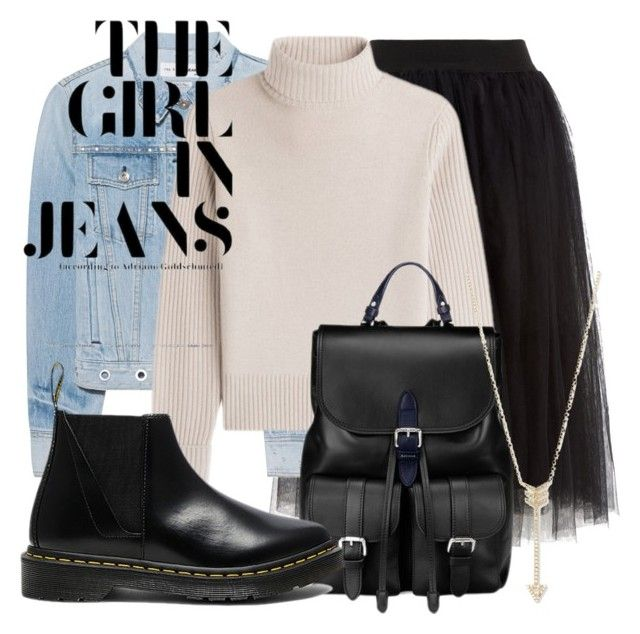 """""""Winter outfit #36"""" by guusjelovesfashion on Polyvore featuring mode, rag & bone, Vanessa Seward, Aspinal of London, EF Collection en Dr. Martens"""