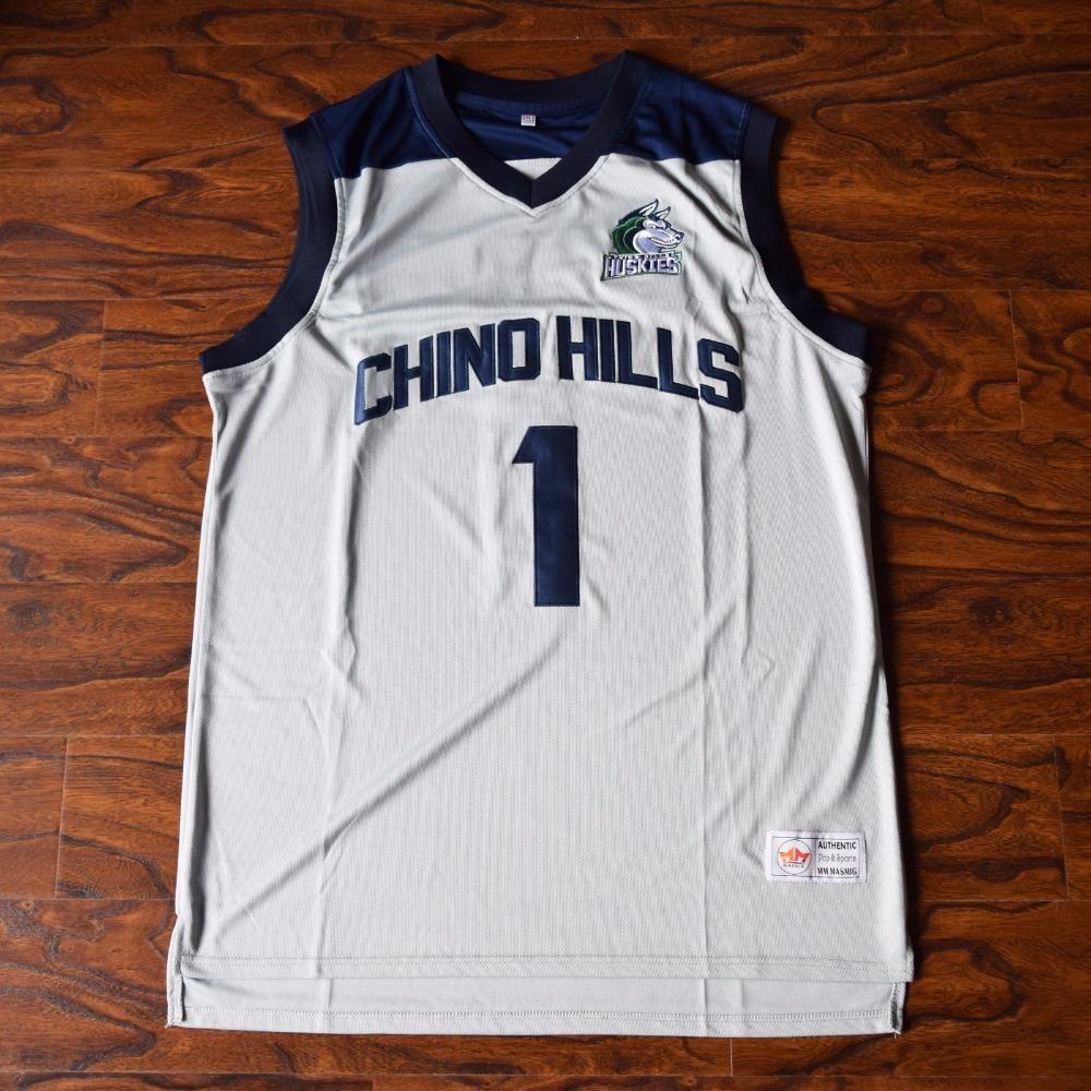 Lamelo Ball 1 Chino Hills High School Basketball Jersey High School Basketball Louisville Basketball Shooting Shirts