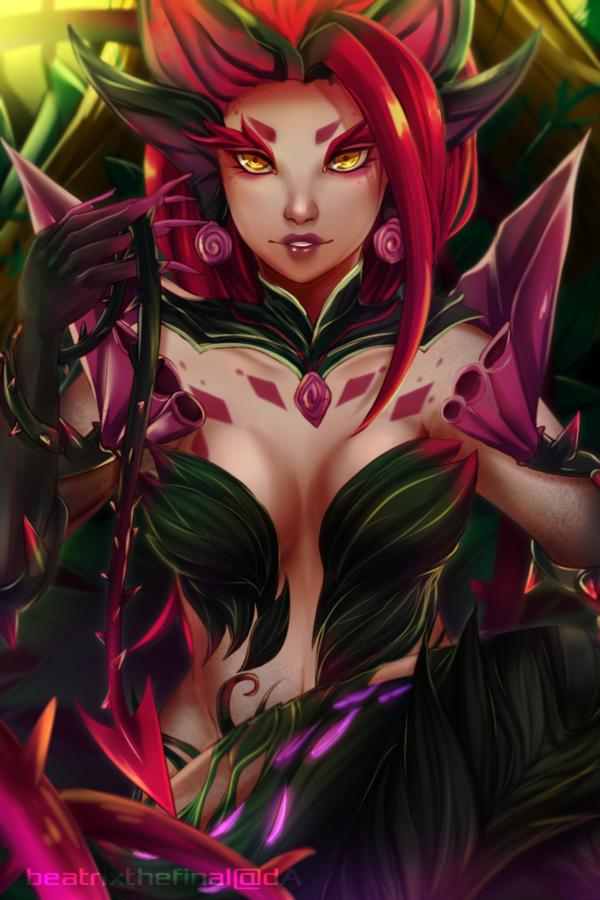 League of Legends : Zyra by bekkomi