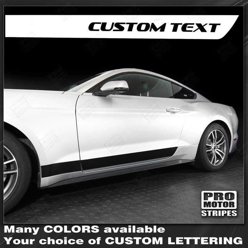 Ford Mustang 2015-2019 Lower Door Side Rocker Panel