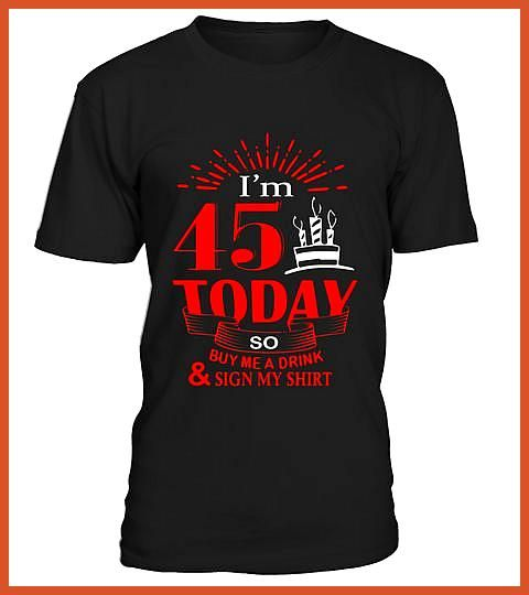 Pretty 45th Birthday T shirt Cool Birthday Presents Ideas Special Offer not available in shops Comes in a variety of styles and colours Pretty 45th Birthday T shirt Cool...