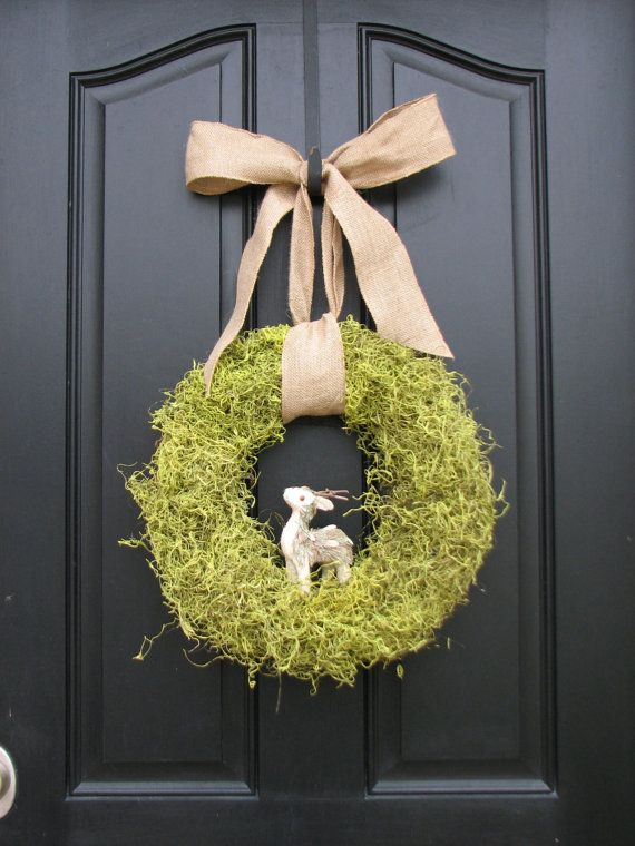for mom,  Moss Wreath by Two Inspire You,  made in Illinois