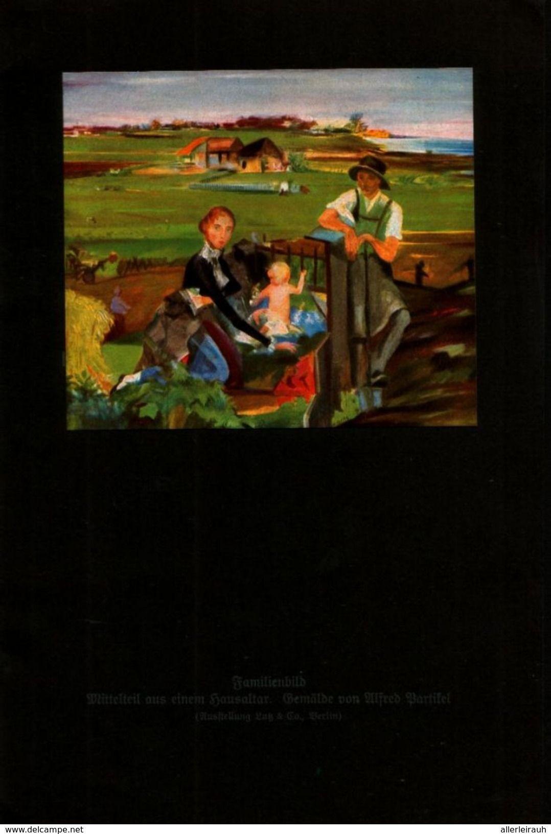 Familienbild Mittelteil Aus Einem Hausaltar Druck Entnommen Aus Zeitschrift 1924 Livres Bd Revues Familienbild Familie Bilder Und Altar