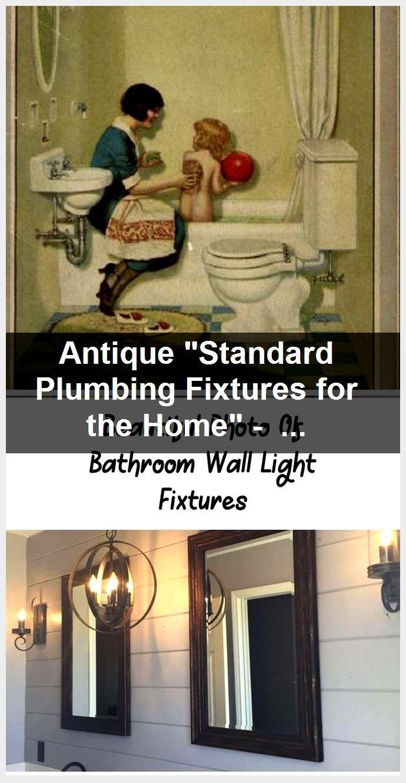 "Photo of Antique ""Standard Plumbing Fixtures for the Home"" – Digital Ebook- Instant Download PDF – Vin…"