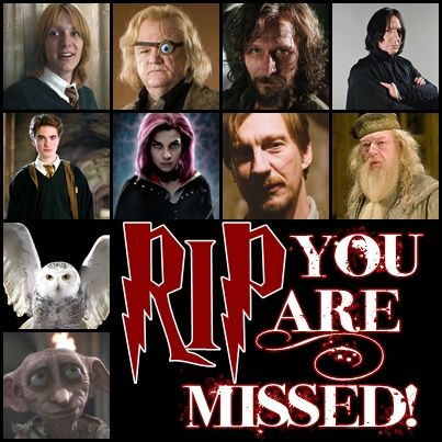 Image result for harry potter character deaths